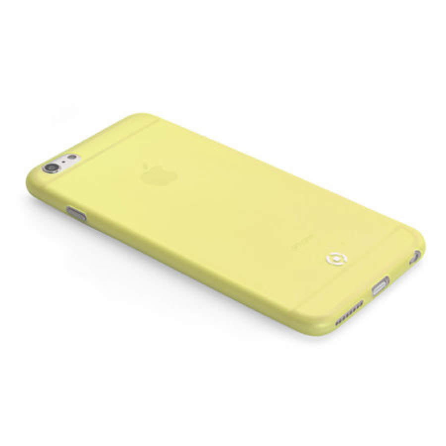 Celly - FROST COVER- IPHONE 6/6S - Geel