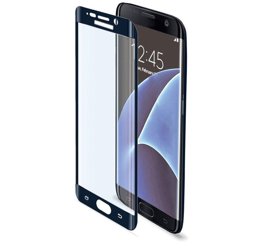 Celly - Glass Screenprotector Samsung Galaxy S7 Edge- Zwart