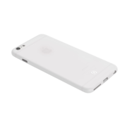 Celly Celly - Geborsteld Cover iPhone 6/6S - Wit