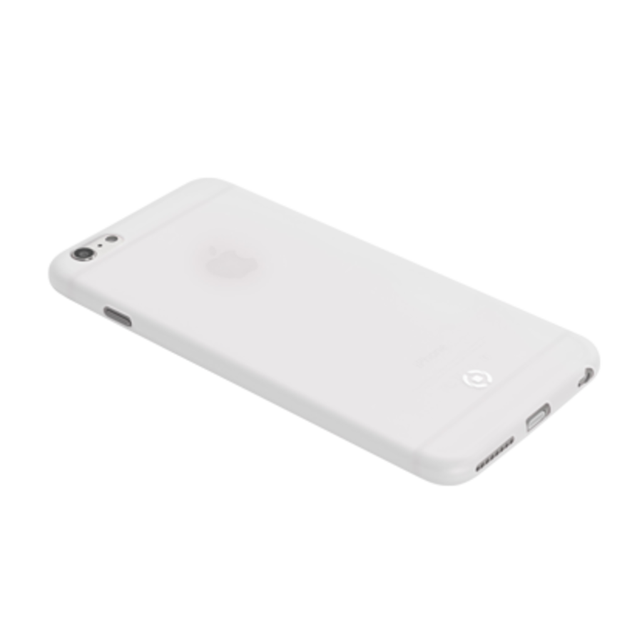 Celly - Geborsteld Cover iPhone 6/6S - Wit