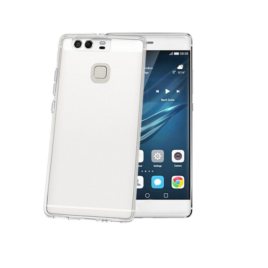 Celly - Huawei P9 Gelskin - Transparant