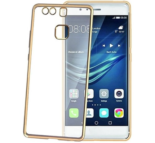 Celly Celly - Laser Cover voor Huawei P9 - Goud