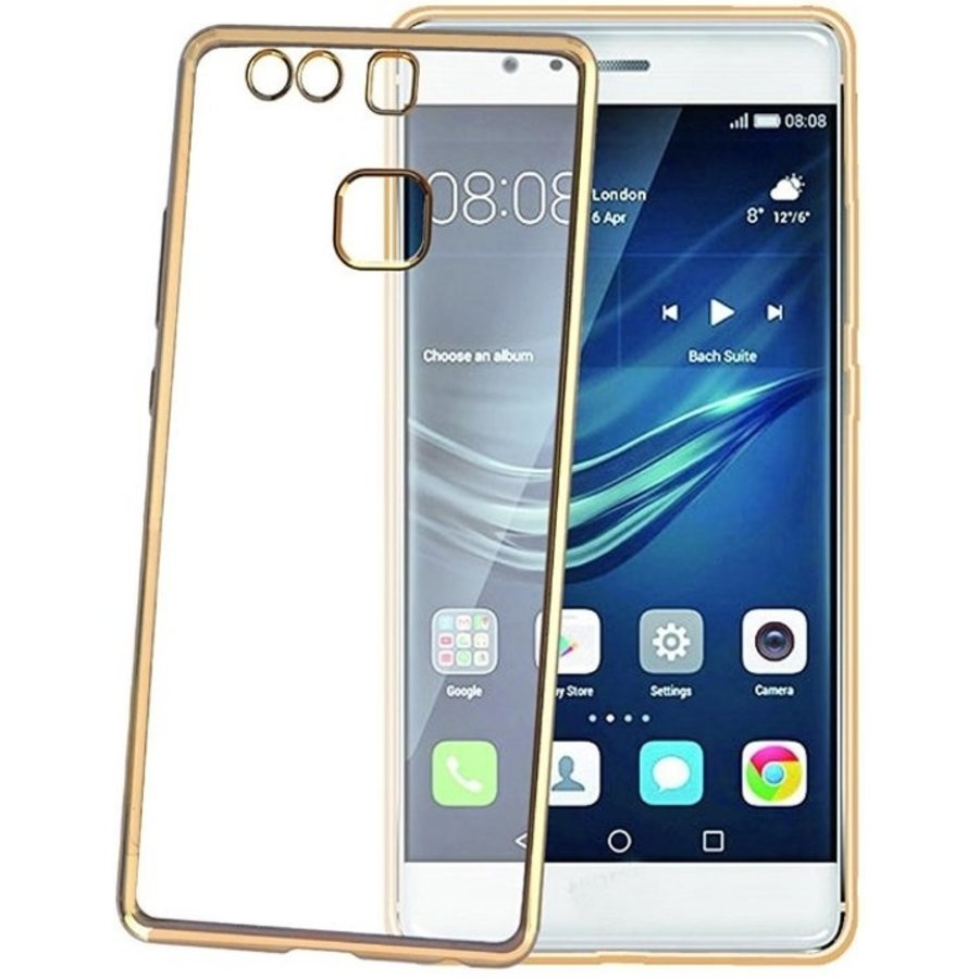 Celly - Laser Cover voor Huawei P9 - Goud