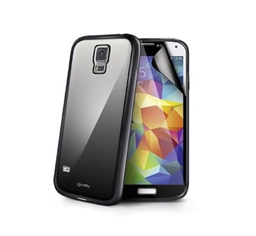 Celly Celly - Sunglass Cover Hoesje voor Samsung Galaxy S5 - Zwart