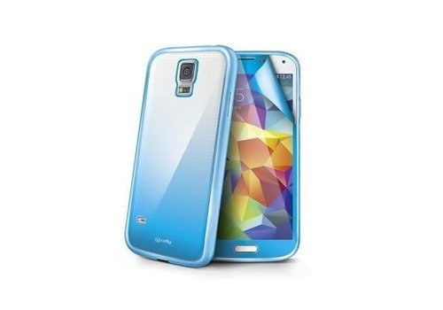 Celly - Sunglass Cover Hoesje voor Samsung Galaxy S5 - Aqua / Hemelsblauw