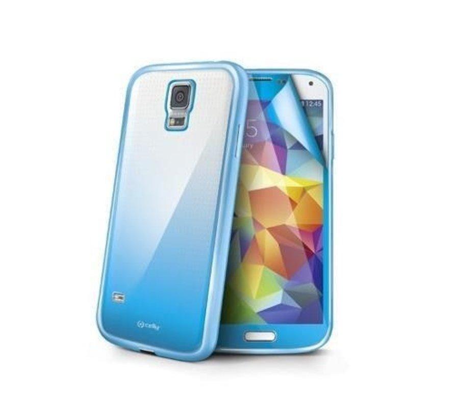 Celly - Sunglass Cover Hoesje voor Samsung Galaxy S5 - Aqua / Hemelsblauw