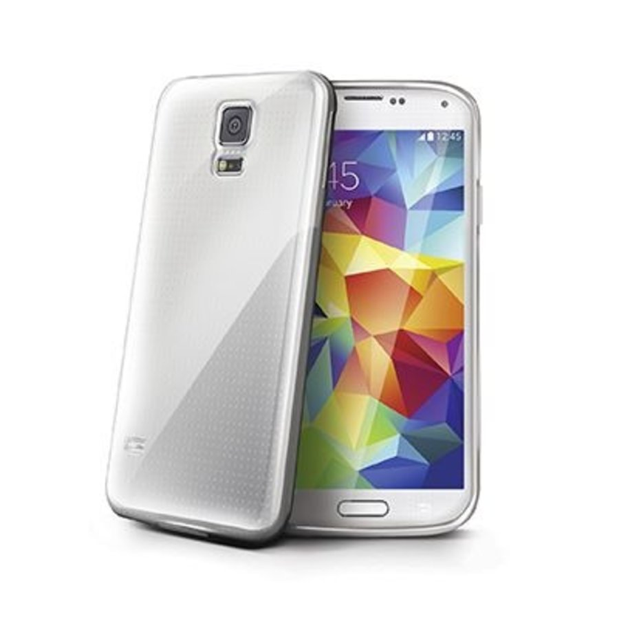 Celly - Cover Gelskin Galaxy S5 - Transparant