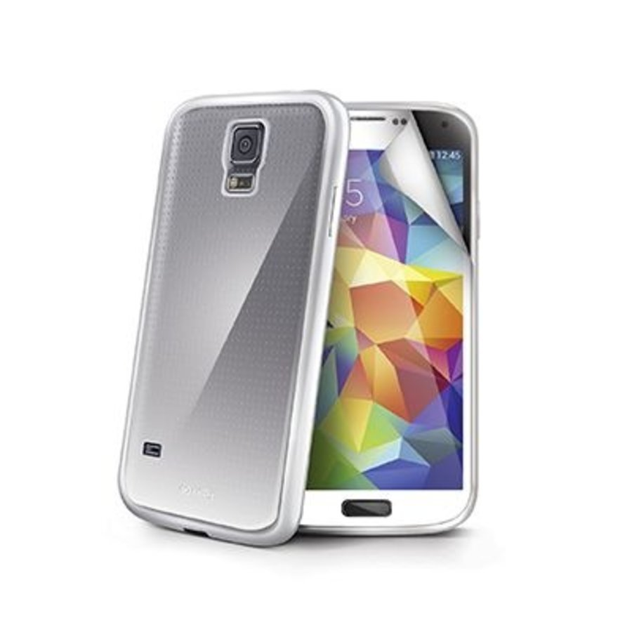 Celly - Sunglass Cover Hoesje voor Samsung Galaxy S5 - Wit