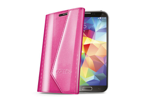 Celly - Lady Wally booktype hoes - Samsung Galaxy S5 - Roze