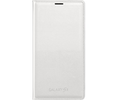 Samsung Samsung - Book Wallet Case voor Samsung Galaxy S5  - Wit