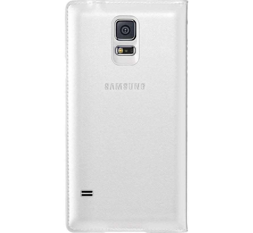 Samsung - Book Wallet Case voor Samsung Galaxy S5  - Wit