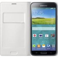 Samsung - Book Wallet Case Wit voor Samsung Galaxy S5 | Galaxy S5 Neo
