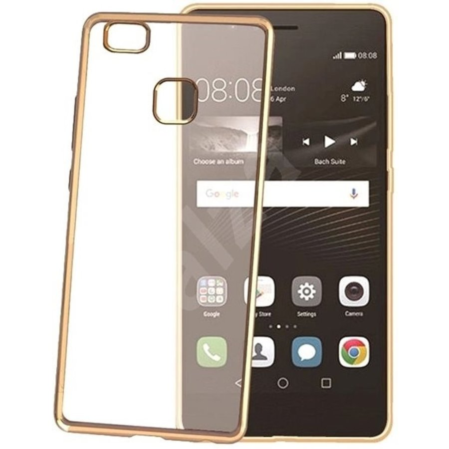 Celly - Laser cover Huawei P9 Lite - Goud