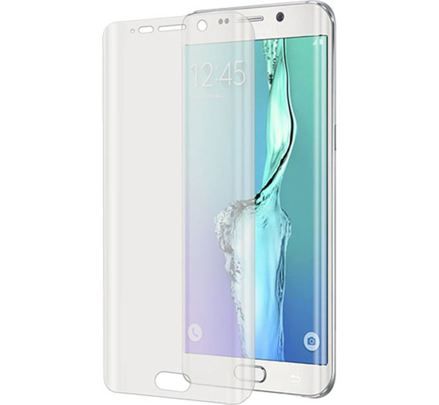 Celly - Full Curve Screenprotector voor Samsung Galaxy S6 Edge Plus