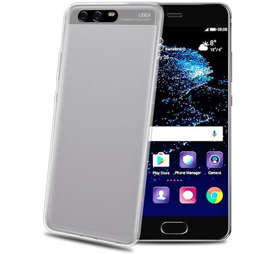 Celly - Gelskin Case Huawei P10 - Transparant