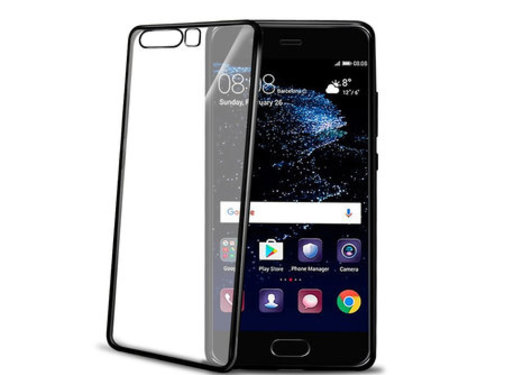Celly Celly - Back Case Huawei P10 - Zwart