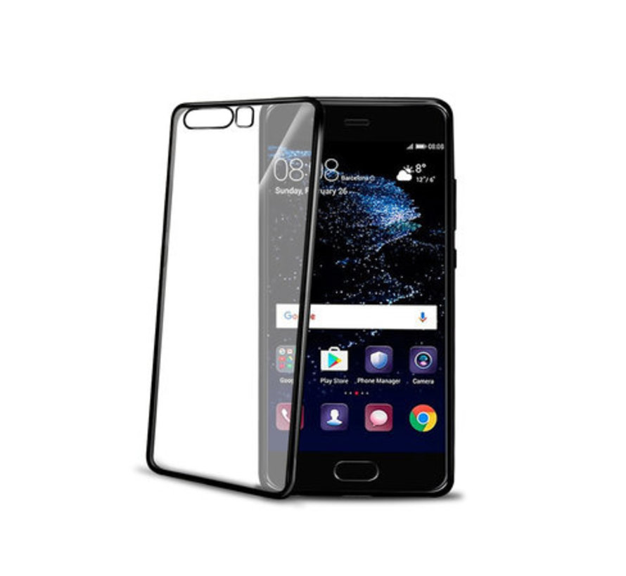 Celly - Back Case Huawei P10 - Zwart