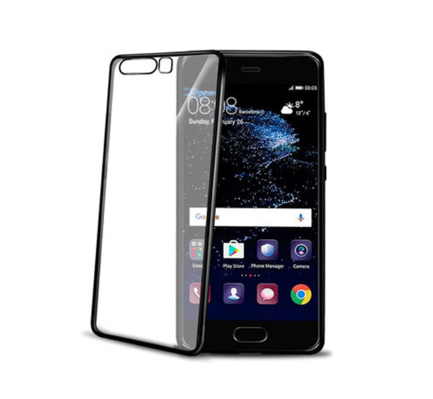 Celly- Laser Cover Huawei P10 Plus- Black
