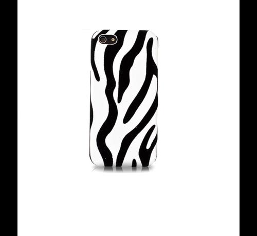 DS. DS. - Styles Zebra iPhone 5C - Wit