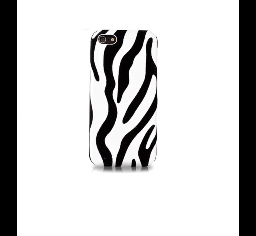 DS. - Styles Zebra iPhone 5C - Wit