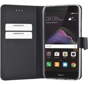 MobiParts Mobiparts - Premium Wallet TPU Case Huawei P8 Lite (2017) - Zwart