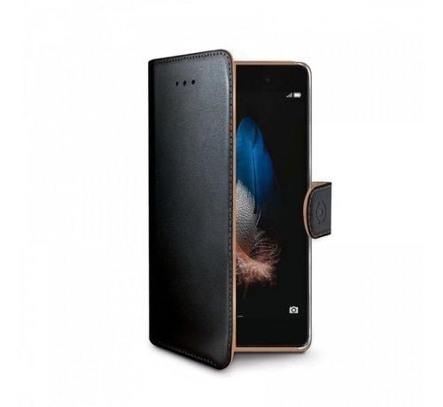 Celly Celly - Wally Hoesje voor Huawei Ascend P8 Lite - Zwart
