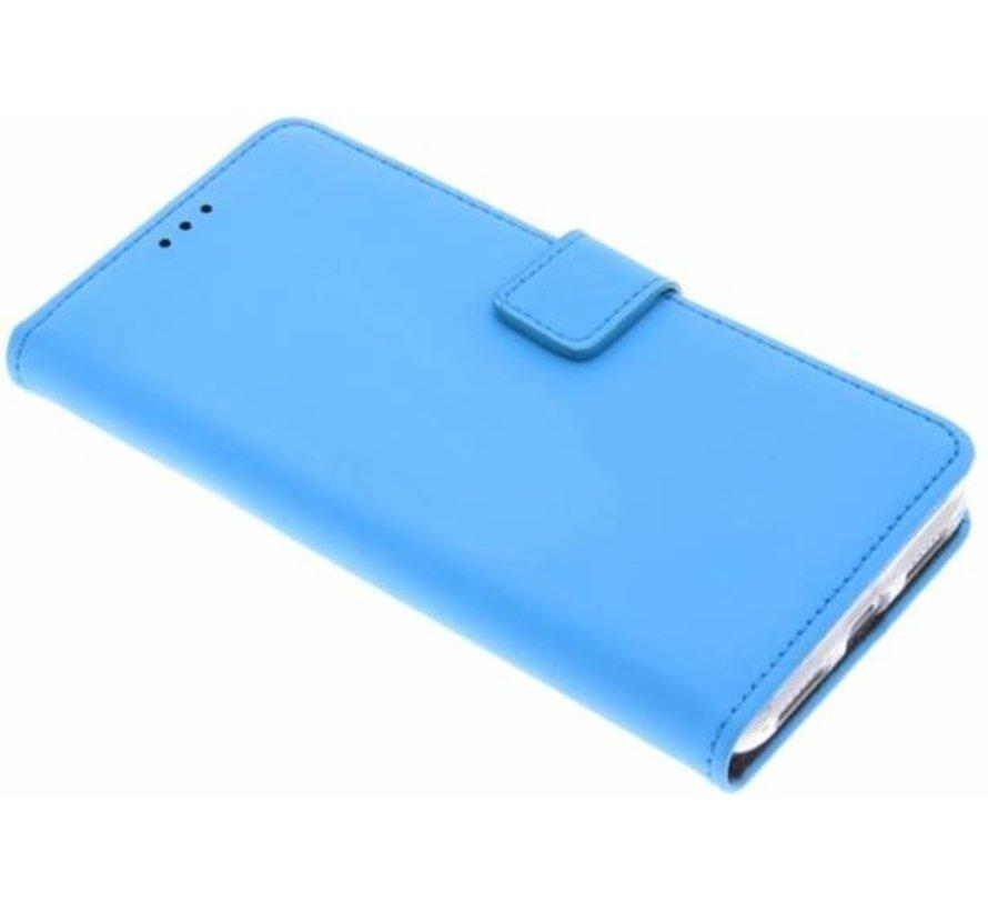 Mobiparts - Premium Wallet TPU Case Huawei P8 Lite (2017) - Lichtblauw