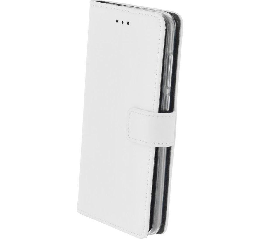 Mobiparts - Premium Wallet TPU Case Huawei P8 Lite (2017) - Wit