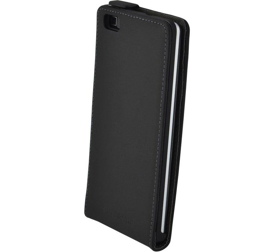 Mobiparts - Premium Flip Case Huawei P8 Lite - Zwart