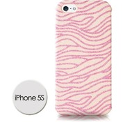 DS Styles DS Styles -Glitter Case Voor Iphone 5/5s - Roze