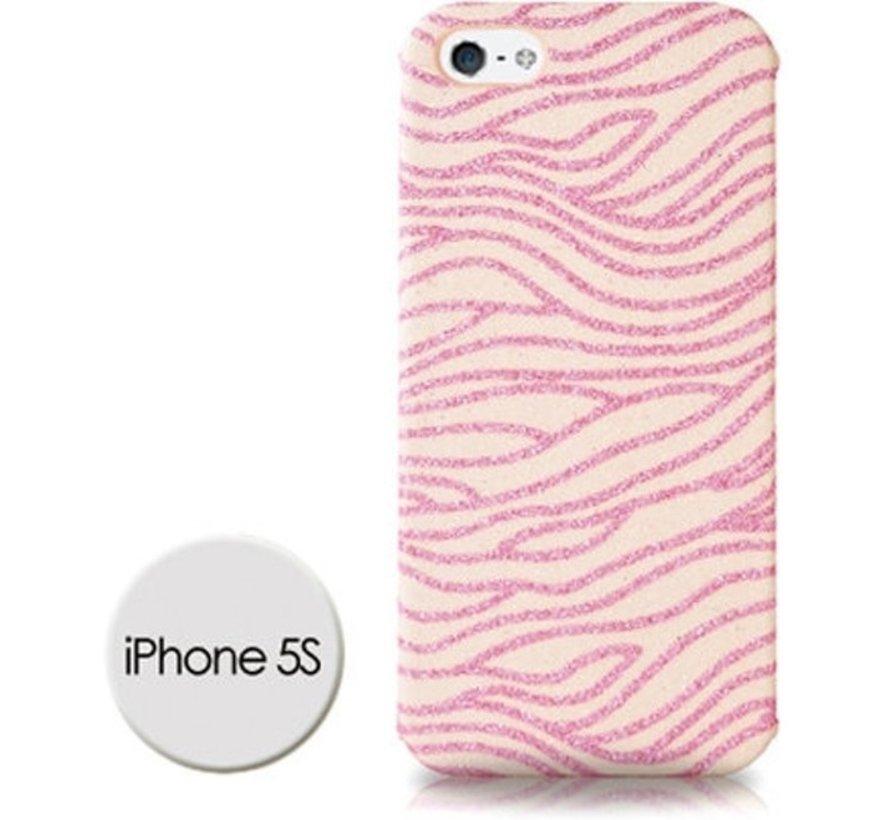 DS Styles -Glitter Case Voor Iphone 5/5s - Roze