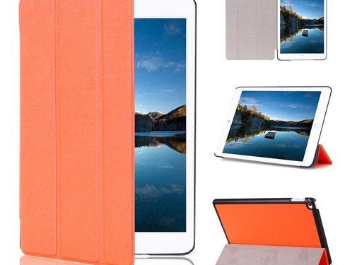 GSMWise Apple iPad Mini 4 - PU lederen Smart Case - Oranje