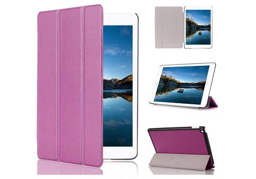Apple iPad Mini 4 - PU lederen Smart Case - Paars