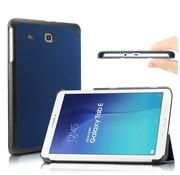 GSMWise Samsung Galaxy Tab E 9.6 - PU lederen Smart Case - Blauw