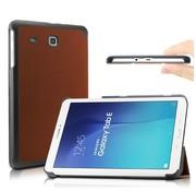 GSMWise Samsung Galaxy Tab E 9.6 - PU lederen Smart Case - Bruin