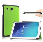 GSMWise Samsung Galaxy Tab E 9.6 - PU lederen Smart Case - Groen