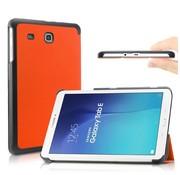 GSMWise Samsung Galaxy Tab E 9.6 - PU lederen Smart Case - Oranje