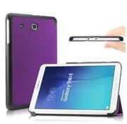 GSMWise Samsung Galaxy Tab E 9.6 - PU lederen Smart Case - Paars