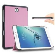 GSMWise Samsung Galaxy Tab S2 9.7 - PU lederen Smart Case - Roze