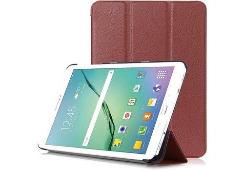 Samsung Galaxy Tab S2 8.0 - PU lederen Smart Case - Bruin