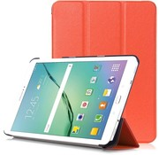 GSMWise Samsung Galaxy Tab S2 8.0 - PU lederen Smart Case - Oranje