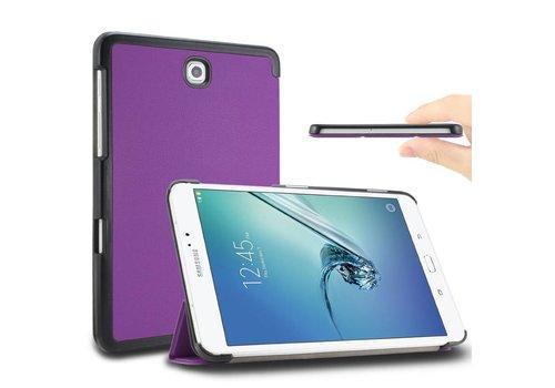 Samsung Galaxy Tab S2 8.0 - PU lederen Smart Case - Kleur Paars