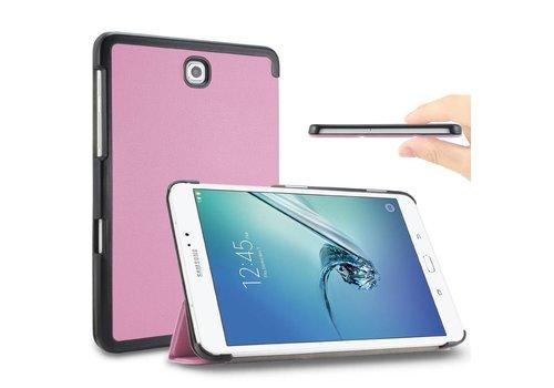 Samsung Galaxy Tab S2 8.0 - PU lederen Smart Case - Roze