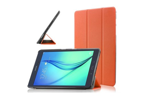 Samsung Galaxy Tab A 9.7 - PU lederen Smart Case - Oranje