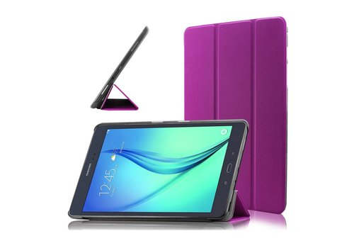 Samsung Galaxy Tab A 9.7 - PU lederen Smart Case - Paars