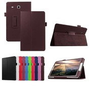GSMWise Samsung Galaxy Tab E 9.6 - Book Case Hoes - Bruin