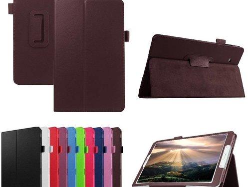 GSMWise Samsung Galaxy Tab E 9.6 - Book Case Hoes - Bruin