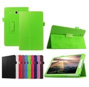 GSMWise Samsung Galaxy Tab E 9.6 - Book Case Hoes - Groen