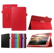 GSMWise Samsung Galaxy Tab E 9.6 - Book Case Hoes - Rood