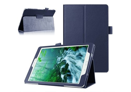 Samsung Galaxy Tab S2 8.0 - Book Case Hoes - Blauw